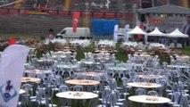 Eskişehir - Bakan Avcı Stadyumdaki Iftar Yemeğine Katıldı
