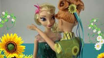 Fête froide poupée gelé et clin doeil avec poupées Fever Frozen Anna Elsa Anna Elsa