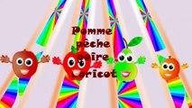Pomme pêche poire abricot - Chanson fran