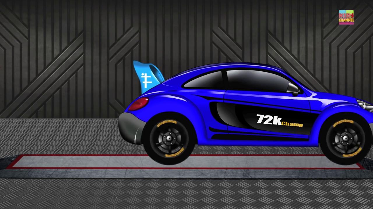 Sports Car _ Cars _ Cartoon Cars _ Ca