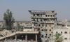 Mahasiswa Mosul Ikut Ujian di Gedung  Kampus yang Rusak