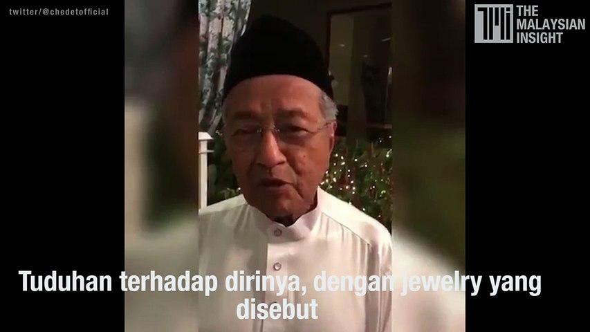 Dr Mahathir challenges Rosmah Mansor to sue DoJ