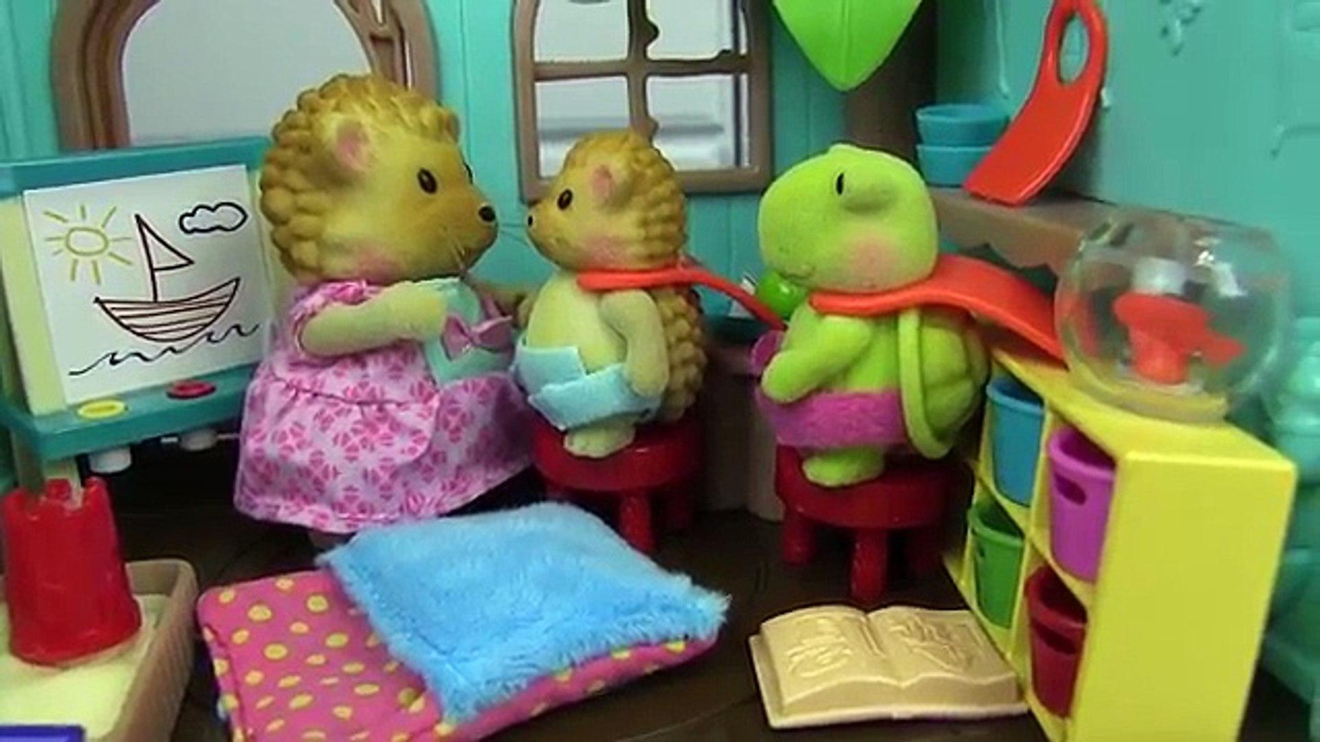 Oso de lindo huevo familia gigante súper sorpresa juguete casa del árbol Lil woodzeez kidfriendly