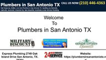 Water heater San Antonio | Drain cleaning San Antonio | Plumbing in San Antonio