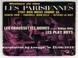 Les Chaussettes Noires & Eddy Mitchell & Gillian Hills & Les Plays Boys_C'est bien mieux comme ça (B.O. Les parisiennes)(1962)