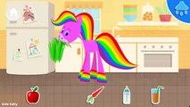 Et soins docteur pour cheval enfants mon animal de compagnie jouer arc en ciel avec ✦ bain