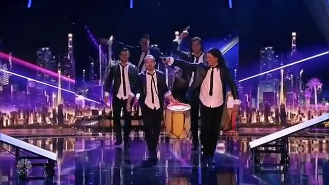 Americas Got Talent 2016 - Team Malevo Got the G