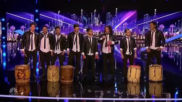 Americas Got Talent 2016 - Team Malevo Got the Golden Buzzer-9Rg