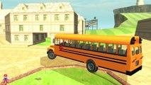 Un et un à un un à autobus enfants pour garderie sur rimes chansons homme araignée le le le le la roues avec Action superherosch