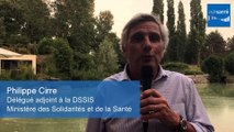 Séminaire Communauté e-Santé - Interview Philippe Cirre (Délégué adjoint à la DSSIS - Ministère des Solidarités et de la Santé)