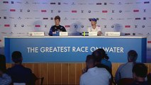 Louis Vuitton America's Cup Playoff Finals- Race Day 2 Helmsmen Press Conference
