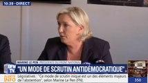 Marine Le Pen espère constituer un groupe à l'Assemblée dans les «prochains mois»