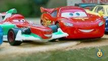 Contre des voitures sur avions course course voie express éclaboussure jouets piste piste roues Disney hydro playset 2