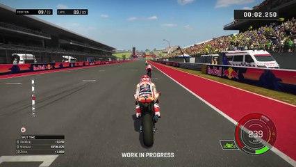 MotoGP 17 Gameplay Footage de MotoGP 17