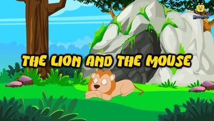 The Lion and The Mouse   Short Moral Stories for Children   Koo Koo Tv   Stories for Kids