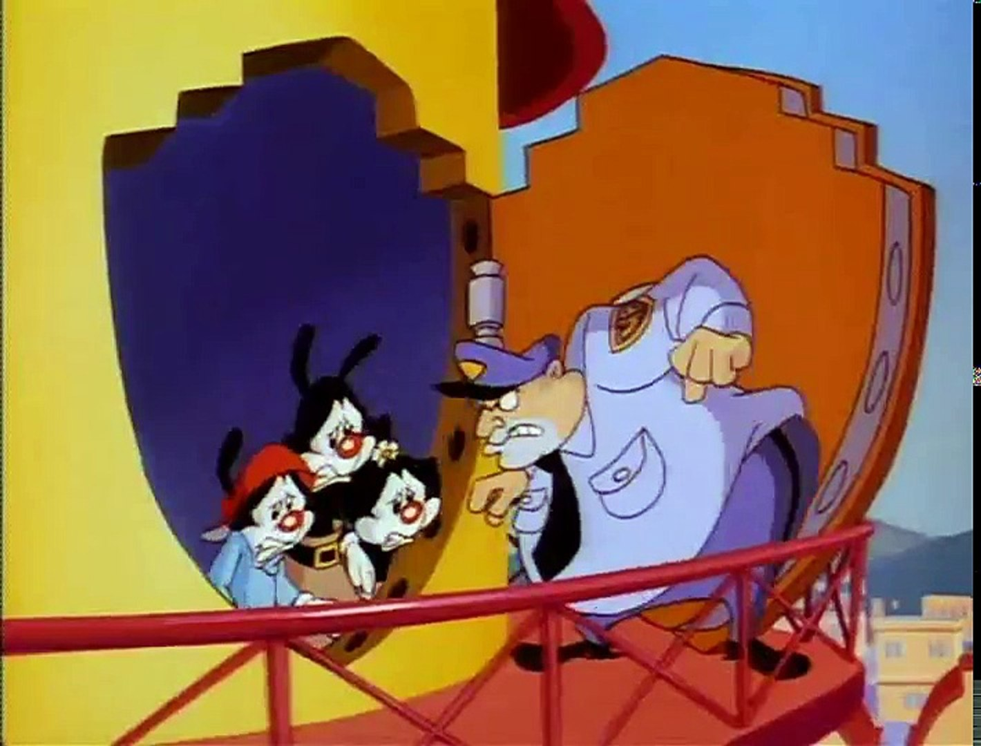 Animaniacs - E 33 - Cartoons in Wakko's Body - Noah's Lark - The Big Kiss  Hiccup