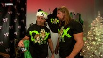 Shawn Michaels, Triple H and Kelly Kelly Backstage Segment