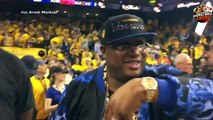 Go behind the scenes as Warriors celebrate 2017 NBA Championship !