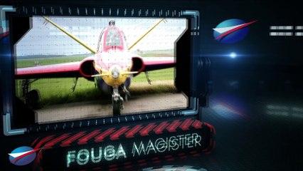 Jour 1 : présentation en vol du Fouga