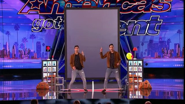 Identical Twins Dazzle With Magic - America's Got Talent 2017