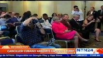 "Cuba se niega a negociar con Estados Unidos ""bajo presión o amenaza"" tras cambio de política"