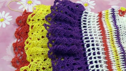 HOW TO MAKE CROCHET BABY DRESS PART -5