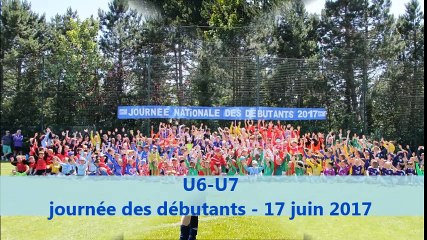 U6-U7 Journée débutants - 17/06/2017