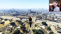 CRAZY NEW ROCKET BIKE STUNTS! (GTA 5 DLC Stunts & Fails)