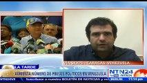 """""""Hay 383 presos políticos hoy en Venezuela"""": Alfredo Romero, director del Foro Penal"""