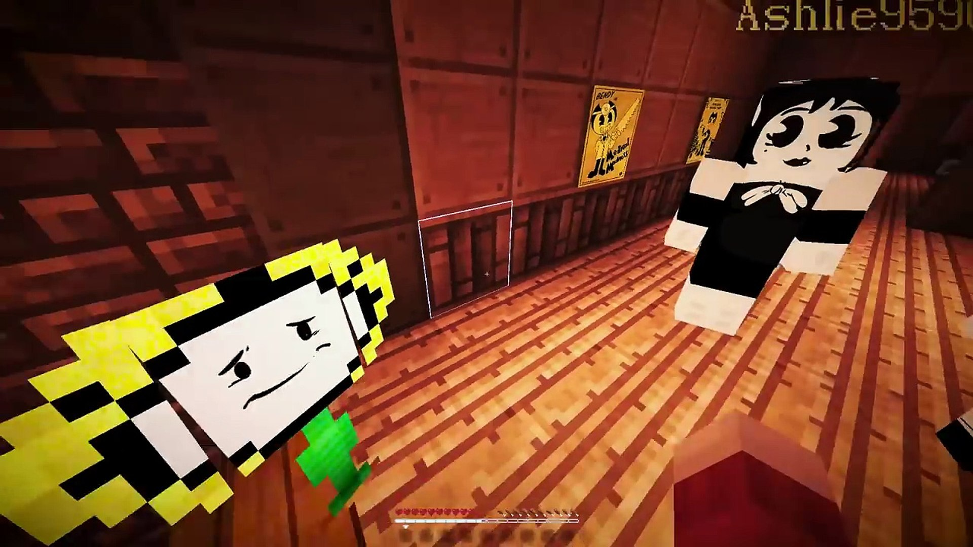 ALICE MEETS FLOWEY! Minecraft BENDYTALE! UNDERTALE AU (Minecraft Undertale Roleplay)