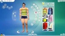 Una y una en un tiene una un en y culturista crear chica el Sims 4 |