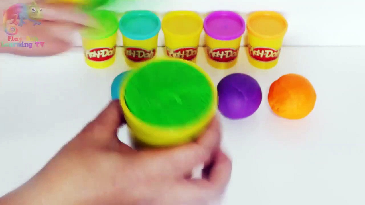 DIY _ How To Make Play Doh Tubs _ Creative Crafts For Kids