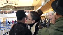 282.Nicole Scherzinger Gives Apl.de.ap A Big Hug, Dodges French Montana Dating Questions At LAX