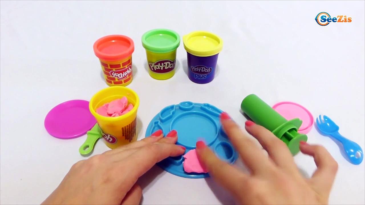 Плей До 6 play doh pasta maker