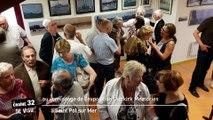 Au vernissage de l'exposition Dunkirk Memories à Saint Pol sur Mer