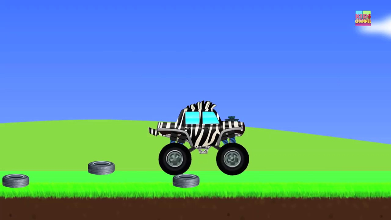 Monster Trucks _ Zebra Trucks _ Car And Truck-FlkjYs_jx8E