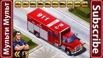 Et voiture feu enfants apprentissage des noms porter secours des sons un camion camions Véhicules |