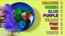 Et des ballons par par les couleurs concours comte des œufs drôle enfants Apprendre apprentissage à Il avec surprise