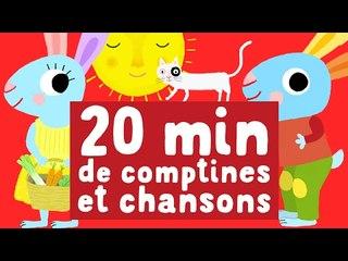 20 minutes chansons pour enfants. Mix des meilleurs chansons de Pinpin et Lili