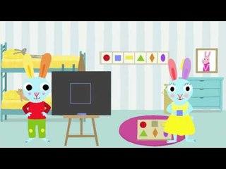 Le carré: Apprendre les formes avec Pinpin et Lili
