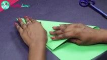 New! Easy Bow, DIY, Fabric Hair Bow. Gift wrap ideas - Bow