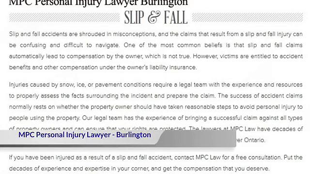 Injury Lawyer Brampton – MPC Personal Injury Lawyer (289) 201-3780