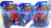 Best Learning Video For Children Opening New Sonic Boom Toys Knuckles Tails Eggman