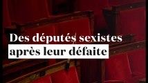Des députés deviennent sexistes après leur défaite face à des femmes
