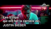 Les 5 clips qui ont fait la carrière de Justin Bieber