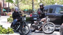 Pink And Hubby Carey Hart Ride Motorcycles [2011]