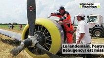 VIDEO. Loir-et-Cher : l'avion posé en urgence enlevé par un camion-grue