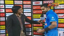 See How Virat Kohli Praising Muhammad Aamir Bowling