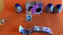 Et boisson Oeuf des œufs jouets déballage 4 œufs surprise surprise disney Violetta