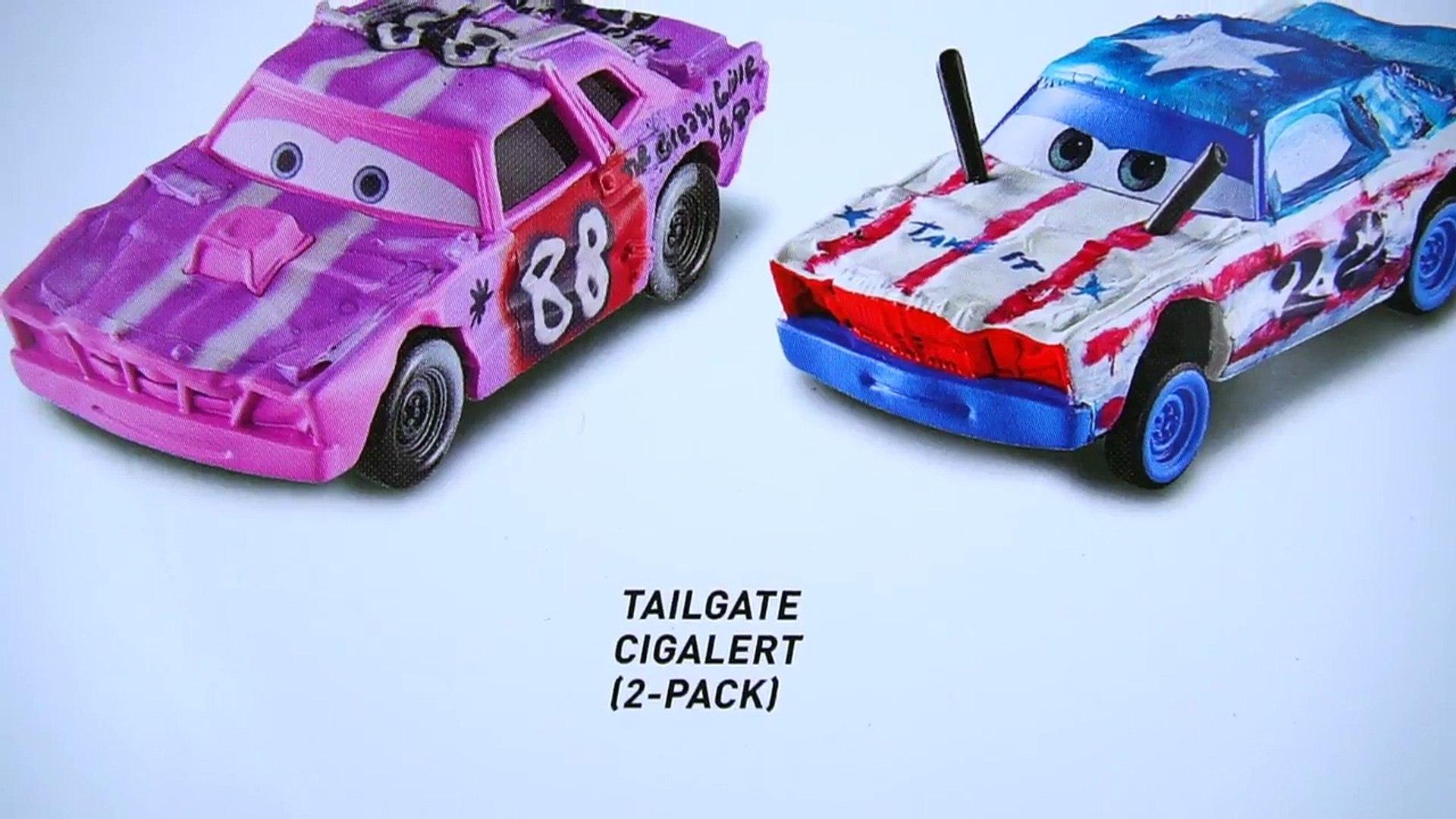 DISNEY CARS DIECAST-Cars 3-Cigalert-Nouvelle version 2017